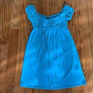 Muse turquoise dress